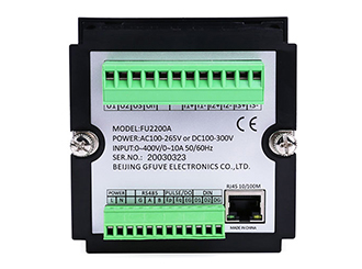 RS485 and RJ45 digital power meter with PC software-Power ...