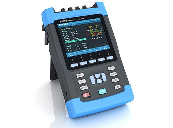 E6000 Handheld Three Phase Power Quality And Energy
