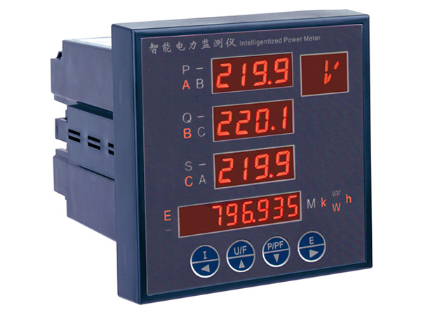 Multifunction Panel Meter : Multifunction mini digital panel power meter