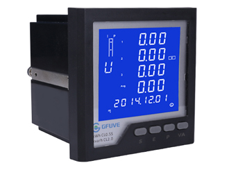 Digital Ethernet power meter with data logger