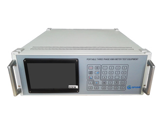 Gf302d3 Portable Three Phase Electric Meter Test Bench
